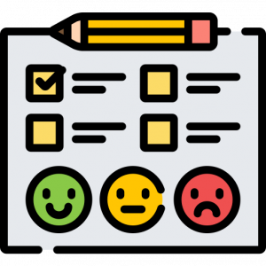 Satisfaction checklist (Featured Image: Essential Elements of School Threat Assessment; credit freepik flaticon)